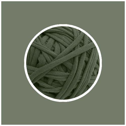 OUTLET - Fios Kiki - Verde Cana - Fio 23mm - 478gr