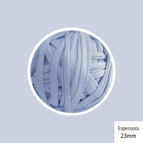 Outlet - Fio de Malha Premium 23mm -Azul Bebê - 216gr