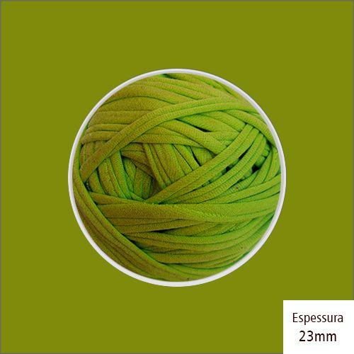 Outlet - Fio de Malha Premium 23mm - Verde Pistache - 488gr