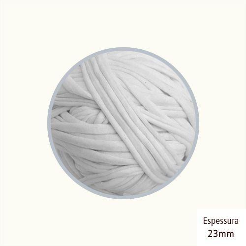 Outlet - Fio de Malha Premium 23mm - Branco Azulado - 418gr