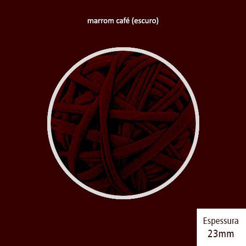 Outlet - Fio de Malha Premium 23mm - Marrom Café Expresso - 216gr