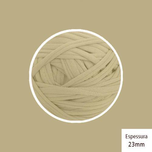 Outlet - Fio de Malha Premium 23mm - Areia Escuro - 402gr