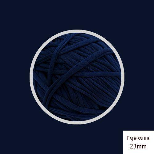 Outlet - Fio de Malha Premium 23mm - Azul Marinho - 204gr