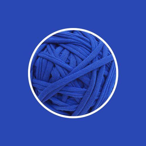 Fio de malha Premium extrafino - Azul Royal - 130m - aprox. 350gr