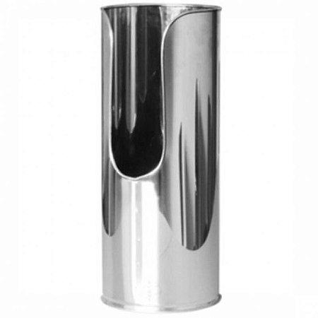 Suporte para Extintor em Aço Inox luxo Pó 4 kg ou 6 kg GILINOX Batom