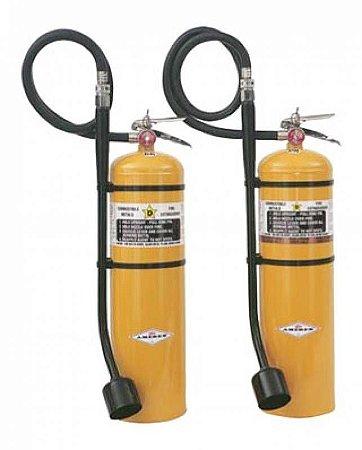 Extintor de incêndio portátil Classe D