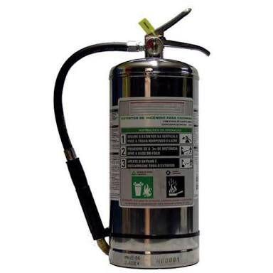 Extintor tipo Classe K Portátil 6 litros