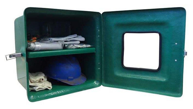 armários em fibra de vidro, para EPI's 40X40X20