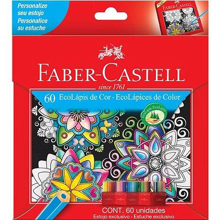 Lápis De Cor Sextavado Faber Castell 60 Cores