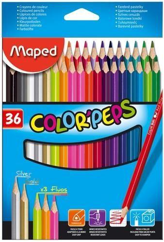 Lápis De Cor Maped Colorpeps 36 Cores