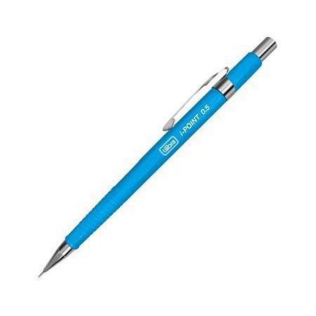 Lapiseira 0,5mm i-Point Neon Azul Tilibra