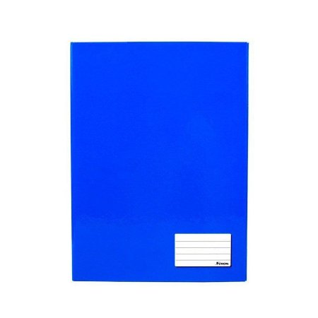 Caderno Universitário Brochura 48 Folhas Azul - Foroni
