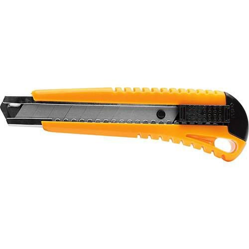 Estilete Maxprint Largo MX-E18 - Amarelo