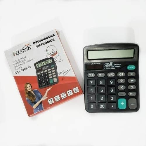 Calculadora Classe 12 Digitos Cla-9805