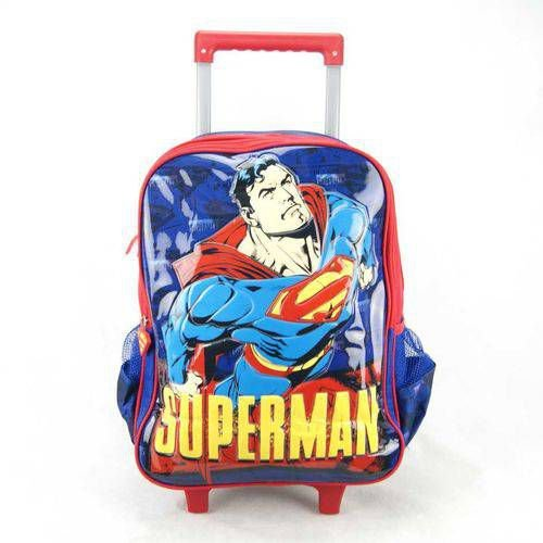 Mochila de Rodinha Superman Luxcel