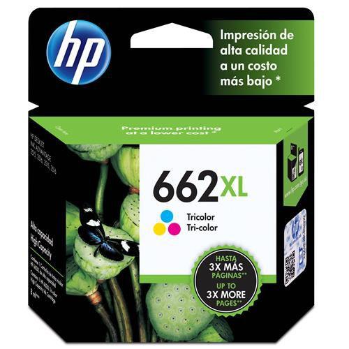 Cartucho de Tinta HP 662 XL Colorido