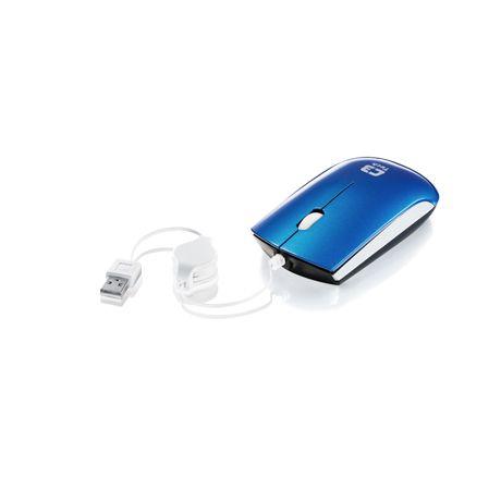 MOUSE USB RETRATIL MS3220 C3TECH AZUL