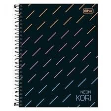 Caderno Colegial Neon Kori Tilibra 80Fls