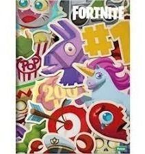 Caderno Universitário Fortnite 1x1 96Fls