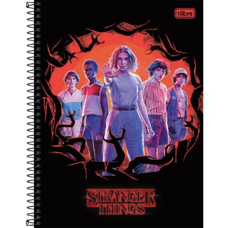 Caderno Universitário Stranger Things 10x1 Tilibra