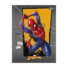 Caderno Universitário Costurado Spider Man 80Fls Tilibra