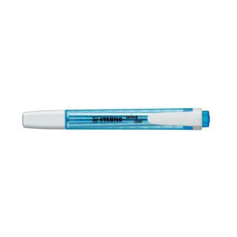 Marca Texto Stabilo Swing Cool Azul Neon