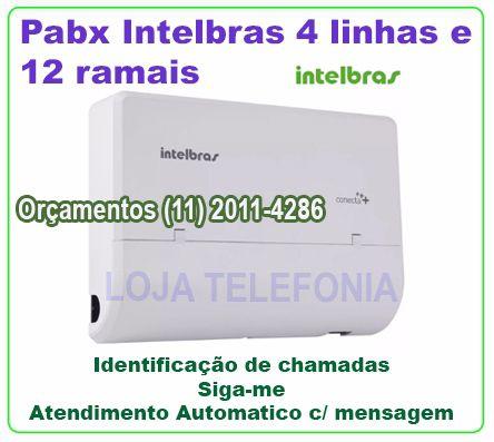 Pabx Modulare Mais Intelbras