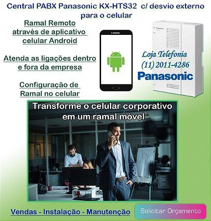 Central PABX Panasonic KX-HTS32 | Store Telecom ...