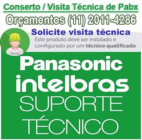 Conserto de PABX em GUARULHOS - Autorizada PABX Intelbras e Panasonic