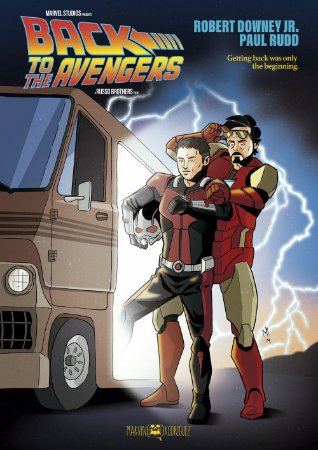 Poster Back to the Avengers