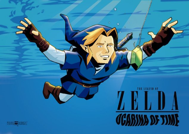 Poster Zelda Nevermind