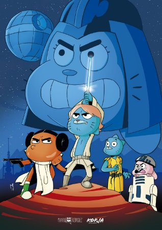 Poster Star Wars Gumball