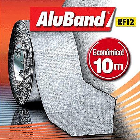 Manta Multiuso de Alumínio com Ráfia- AluBand RF12 Alumínio - Rolos 10m