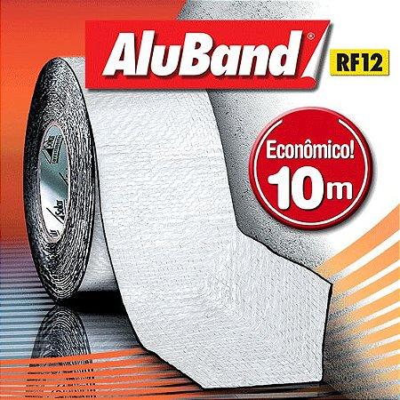 Manta Multiuso de Alumínio com Ráfia na cor Branca - AluBand RF12 Branca - Rolos 10m