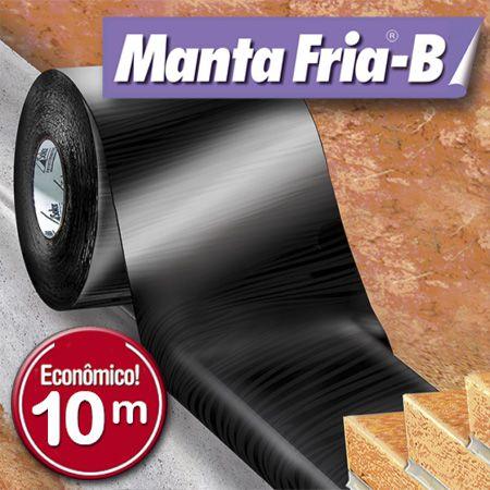 Manta Adesiva para Telhado - Manta Fria B - Manta Impermeabilizante Asfáltica para Fundações, Alicerces e Baldrame Rolos 10m