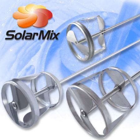 Misturador e Agitador de Aço Inox - SolarMix