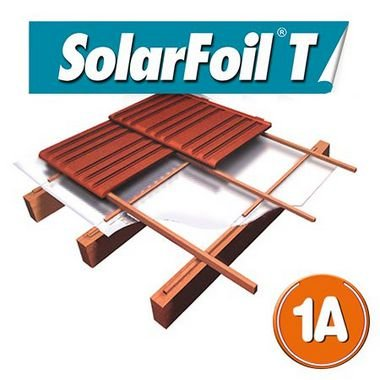 Manta de Isolamento Térmico - SolarFoil T 1A - 5m²: 125cm x 4m