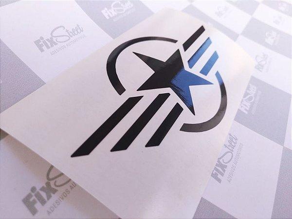 Adesivo Símbolo Militar - Produto Universal