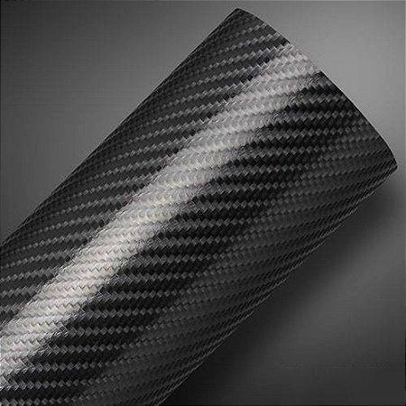 Pedaço adesivo fibra de carbono 4D para envelopamento