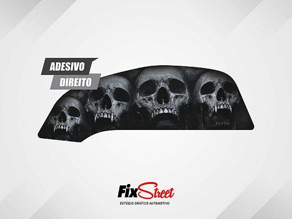 Adesivos Skull PB para tanque Honda CB 450