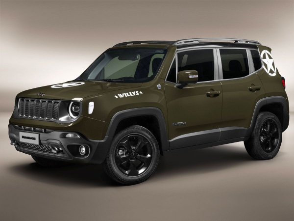 Kit de adesivos Jeep Renegade edição Willys