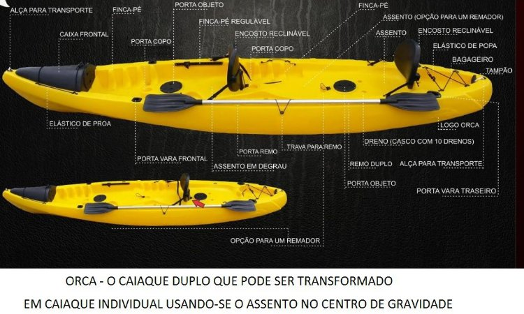CAIAQUE DUPLO ORCA FSH
