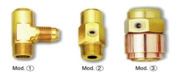 Válvula de Segurança para Condensadores a Água,