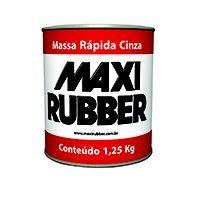 Massa Rápida Cinza Maxi Rubber