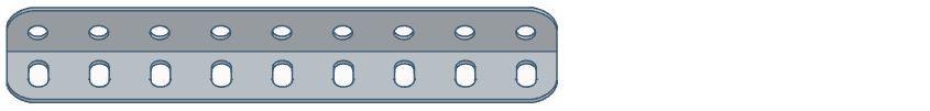 Modelix 325 - Cantoneira com 9 furos