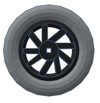 Modelix 347 - Roda com furo Quadrado 59 mm