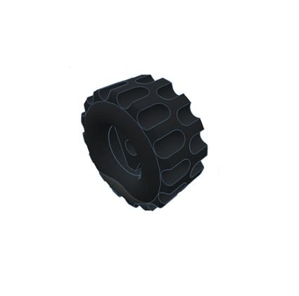 Modelix 394 - Roda Pequena (diâmetro interno = 4,75mm diâmetro externo = 22mm)