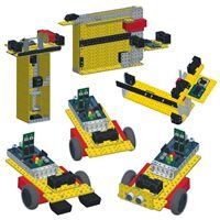 Modelix 858 -  Kit Robotica Educacional M16