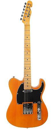 Guitarra Telecaster Woodstock Series TW-55-BS (Butterscotch - Escala Clara - Escudo Preto) - Tagima