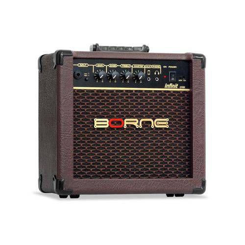 Amplificador para Violão Infinit CV60 Marrom 15W - Borne